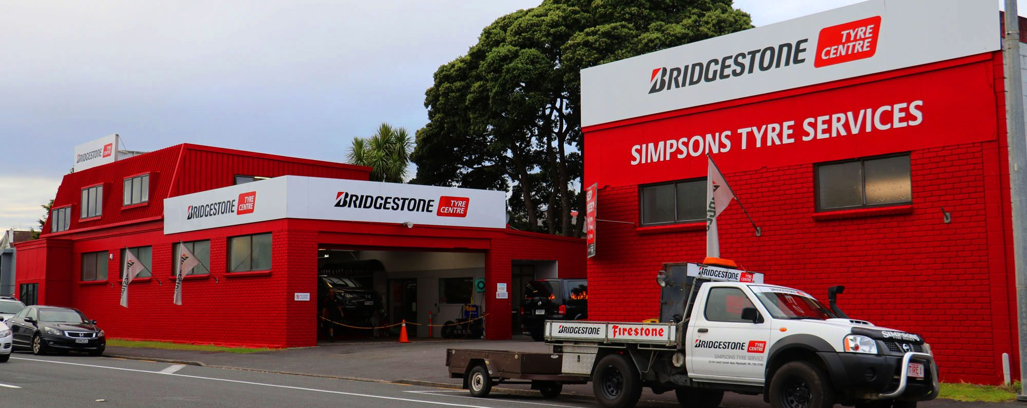 Simpsons Tyres Bridgestone Tyre Centre